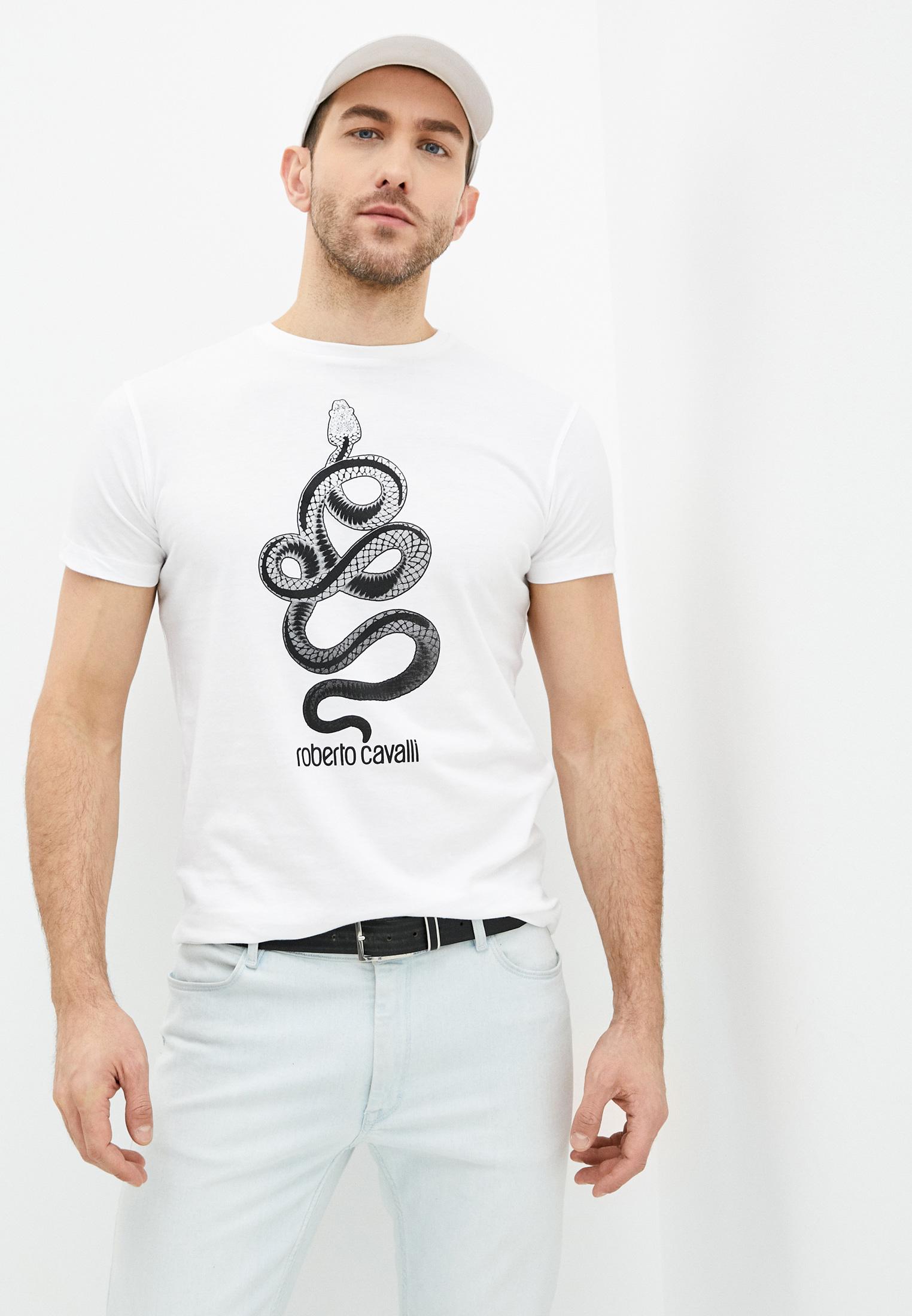 Мужская футболка Roberto Cavalli (Роберто Кавалли) HST64DA0270
