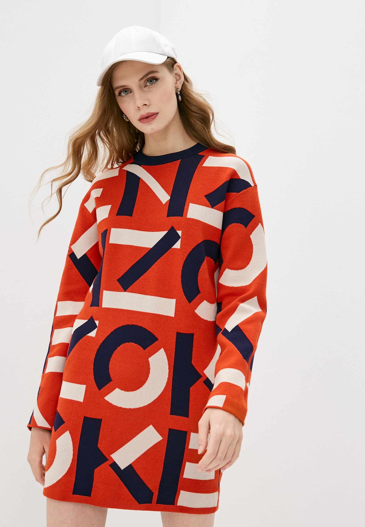 Вязаное платье Kenzo FB52RO5313SC