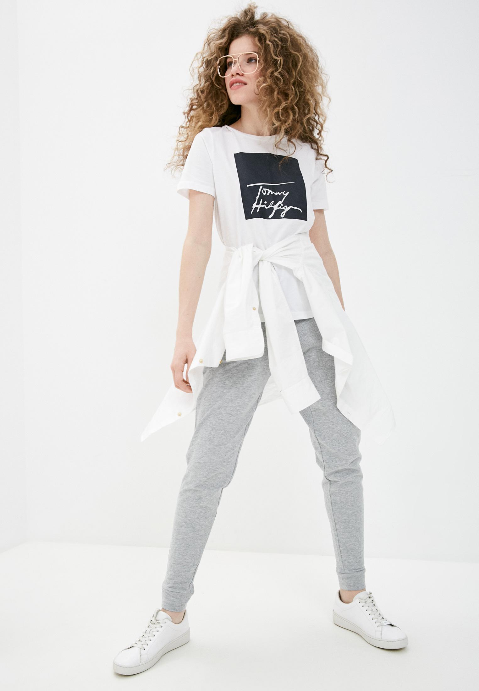 Женские домашние брюки Tommy Hilfiger (Томми Хилфигер) UW0UW01924: изображение 2