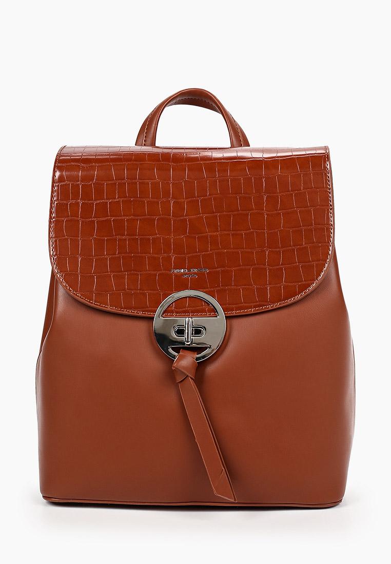 Городской рюкзак David Jones (Дэвид Джонс) 6505-2_коричневый: изображение 1