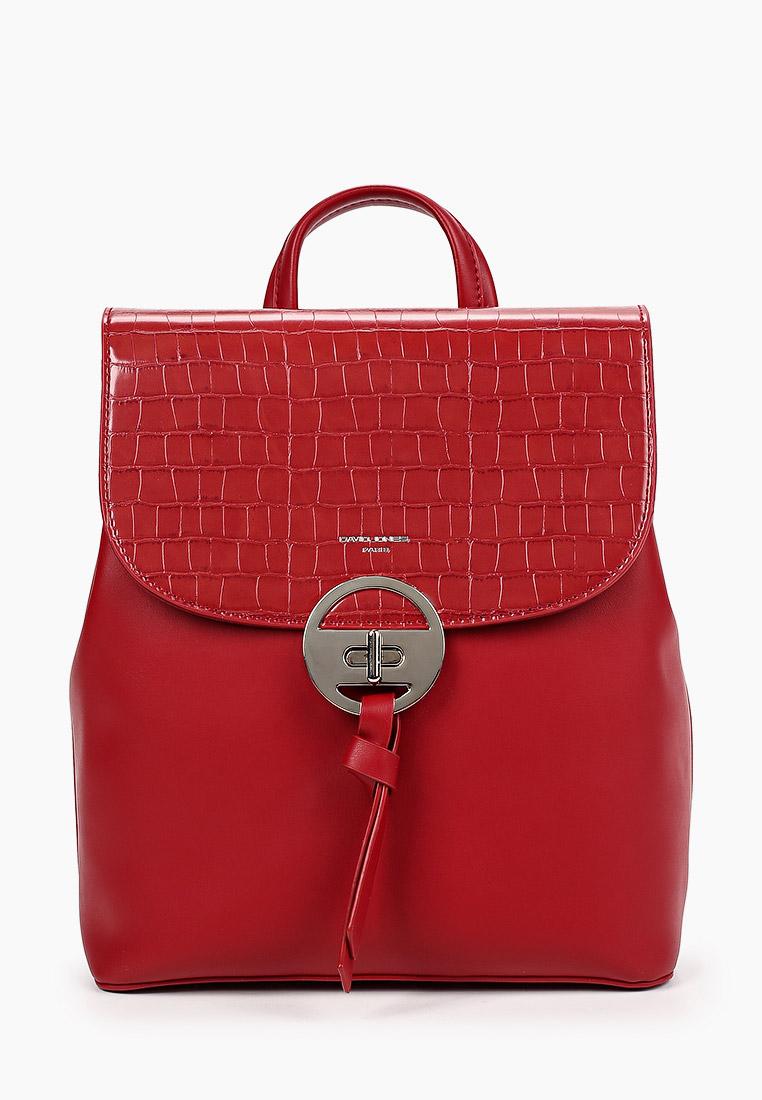 Городской рюкзак David Jones (Дэвид Джонс) 6505-2_красный
