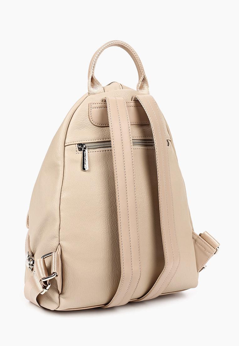 Городской рюкзак David Jones (Дэвид Джонс) CM6008_бежевый: изображение 2