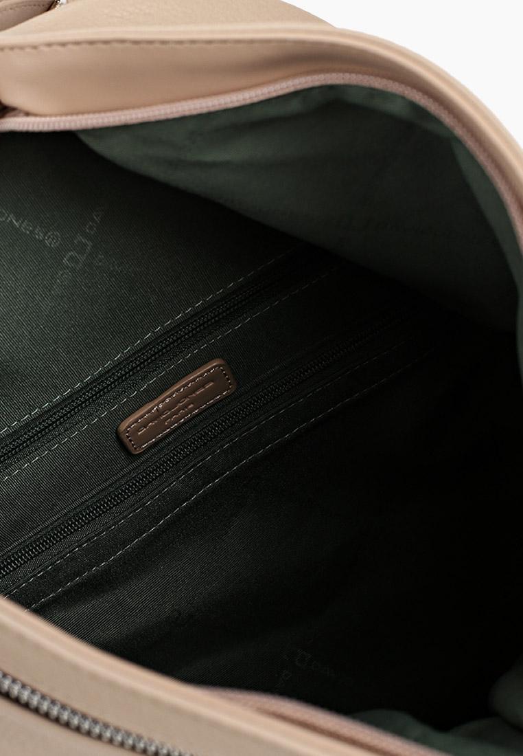 Городской рюкзак David Jones (Дэвид Джонс) CM6008_бежевый: изображение 3