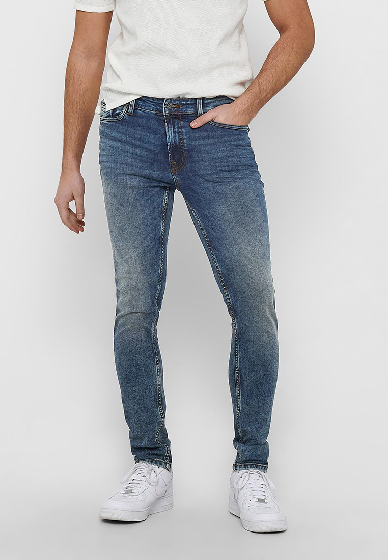 Зауженные джинсы Only & Sons (Онли Энд Санс) 22018609