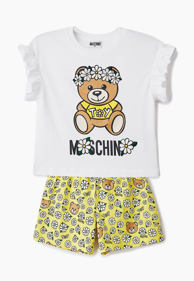 Комплект MOSCHINO KID Футболка и шорты Moschino Kid