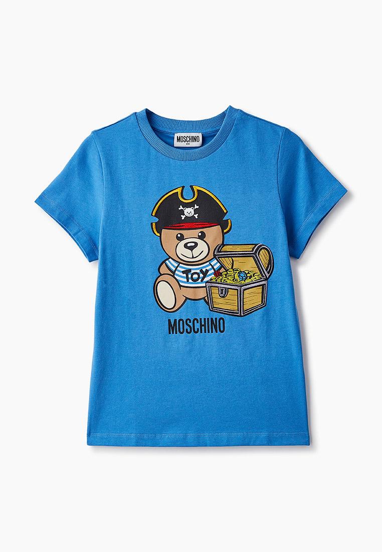 Футболка с коротким рукавом MOSCHINO KID Футболка Moschino Kid