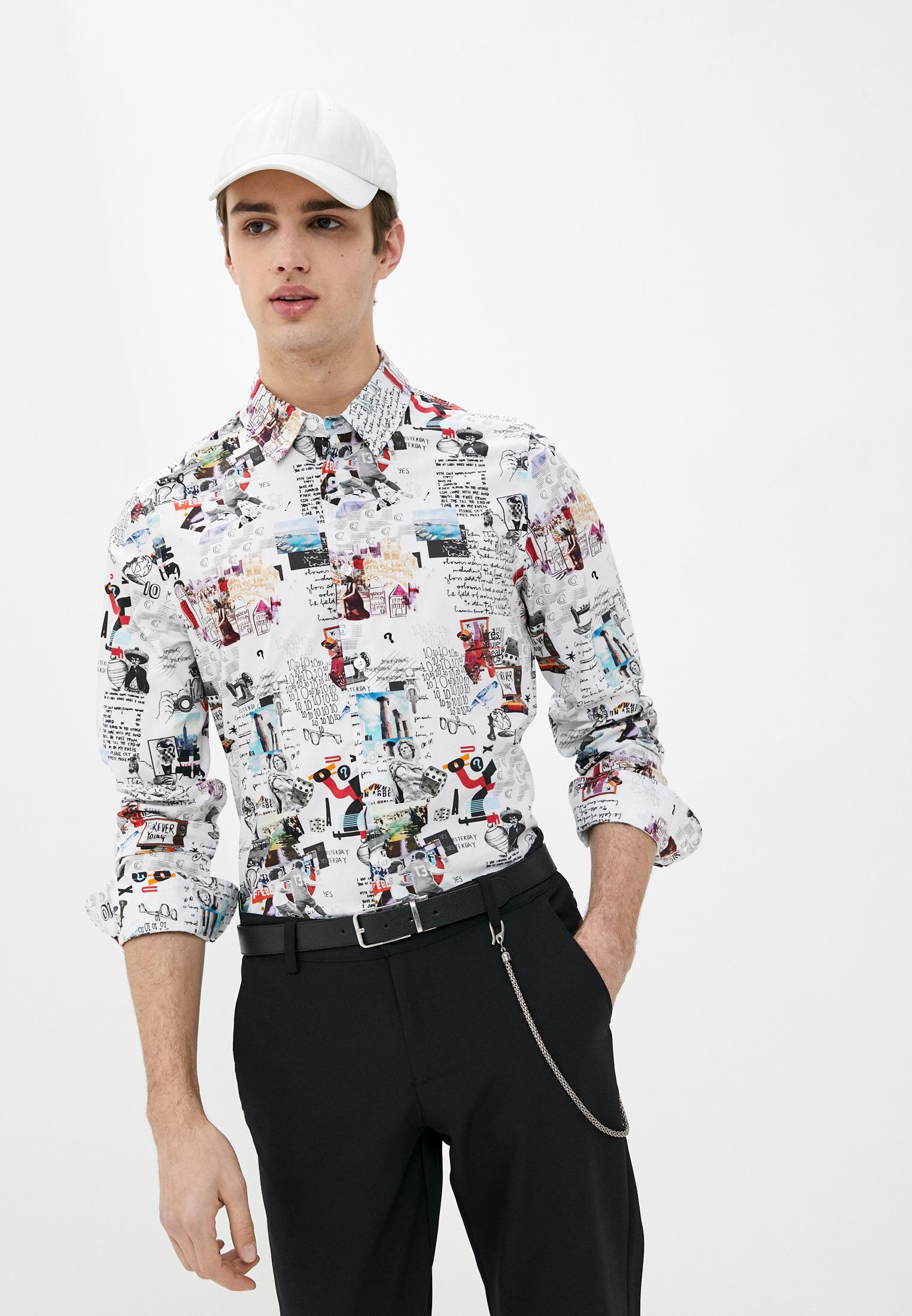 Рубашка с длинным рукавом Desigual (Дезигуаль) 21SMCW02