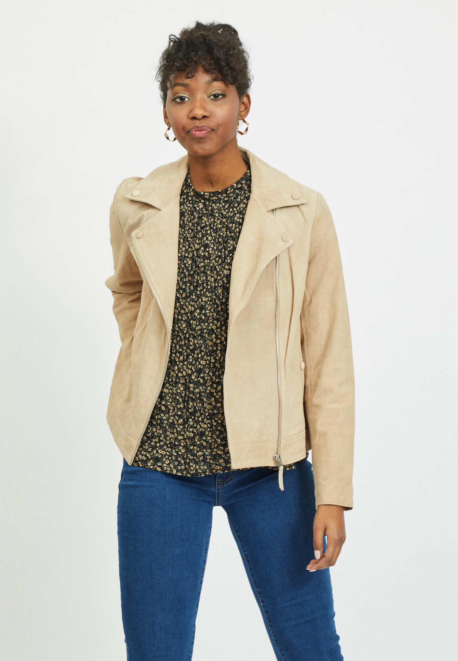 Кожаная куртка Vila 14063654
