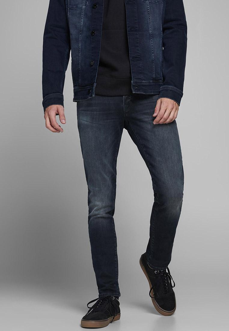 Зауженные джинсы Jack & Jones (Джек Энд Джонс) 12175893