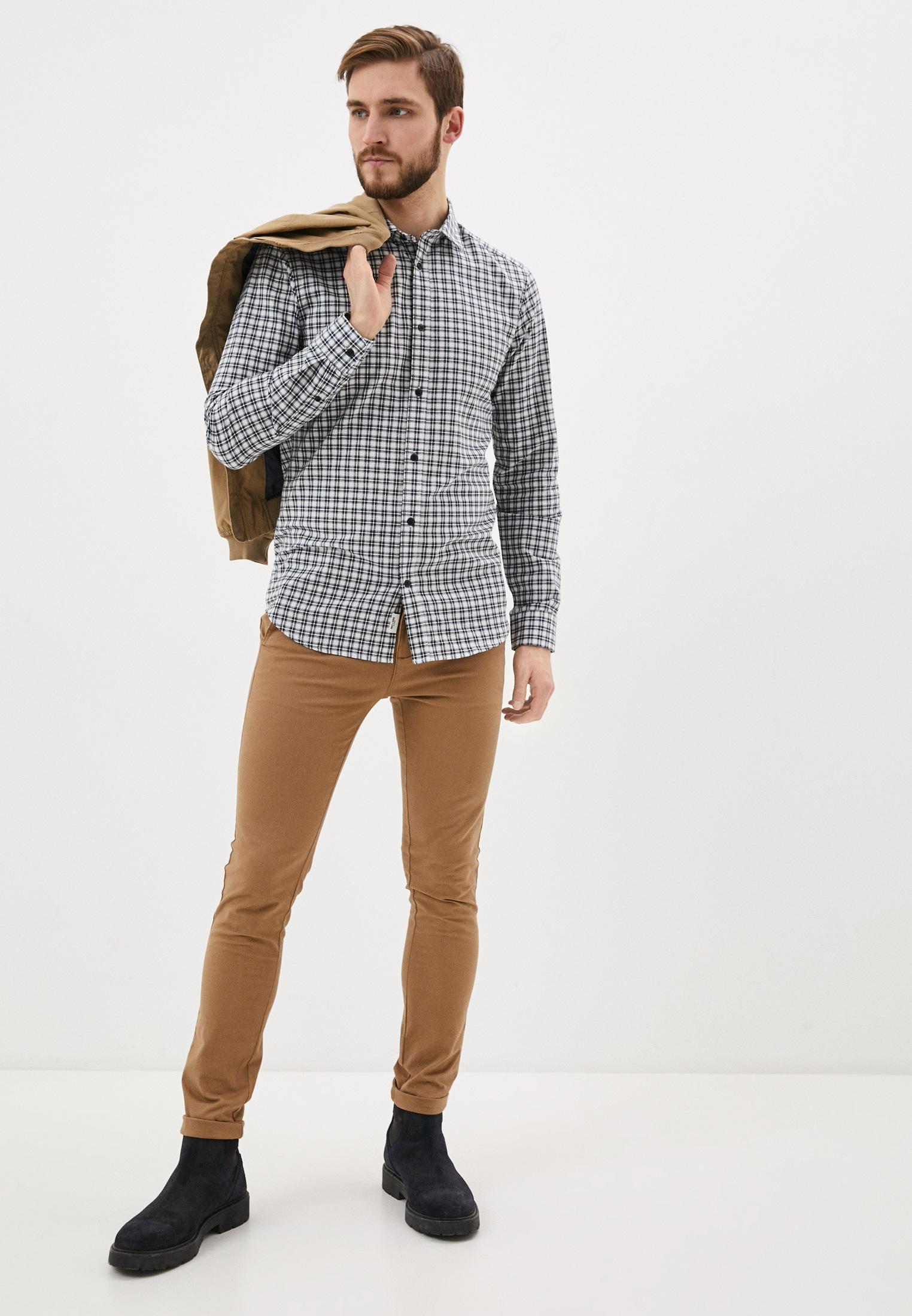 Рубашка с длинным рукавом Only & Sons (Онли Энд Санс) 22018852: изображение 2
