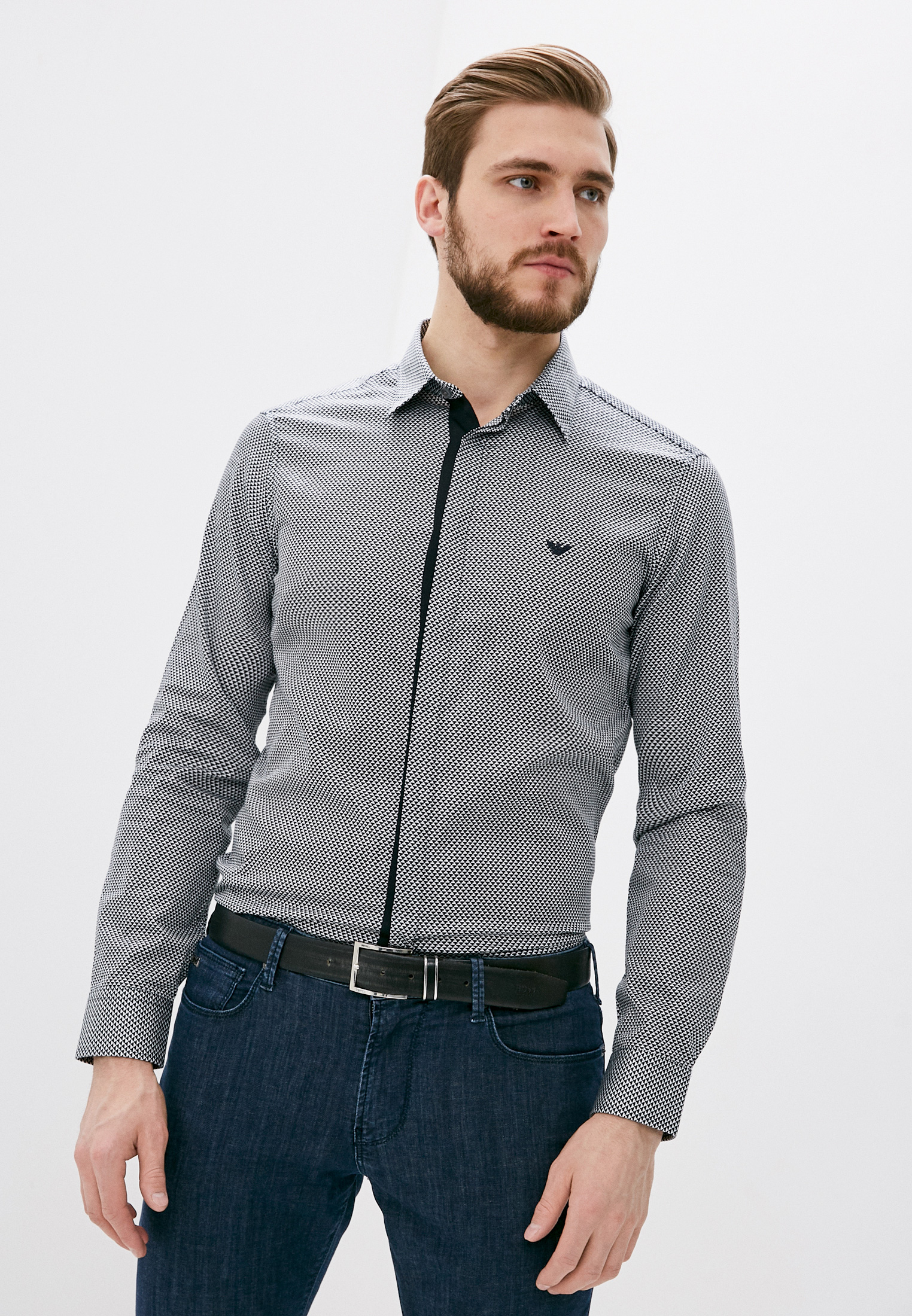 Рубашка с длинным рукавом Emporio Armani 3K1CA21NXTZ