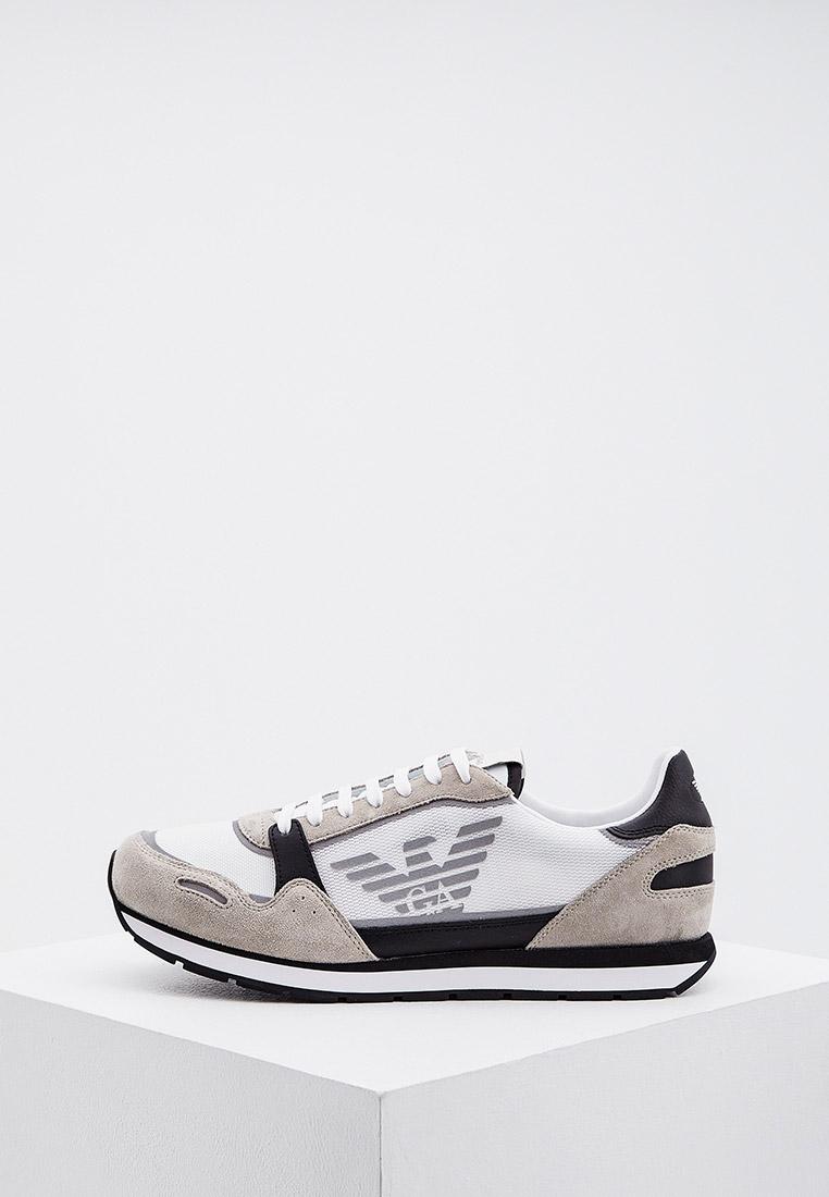 Мужские кроссовки Emporio Armani (Эмпорио Армани) X4X537 XM678