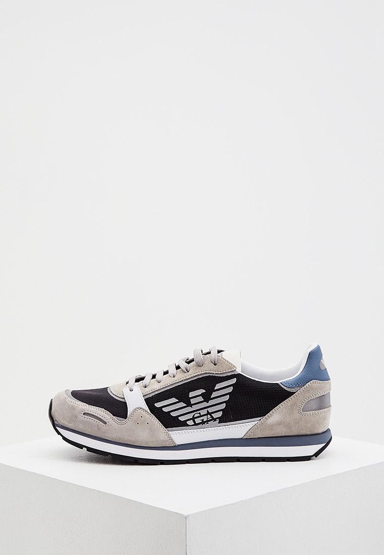 Мужские кроссовки Emporio Armani X4X537 XM678