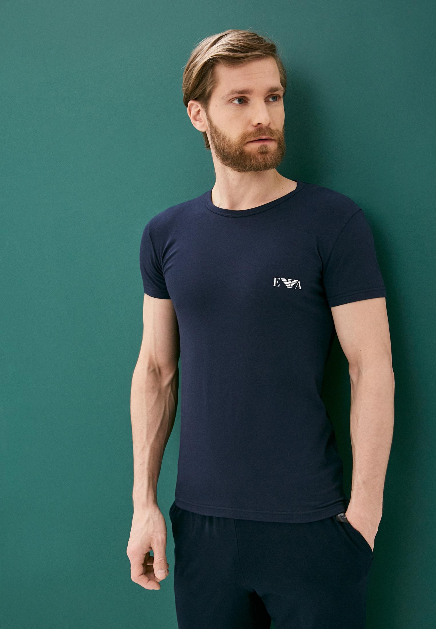 Домашняя футболка Emporio Armani 1116701p715: изображение 3