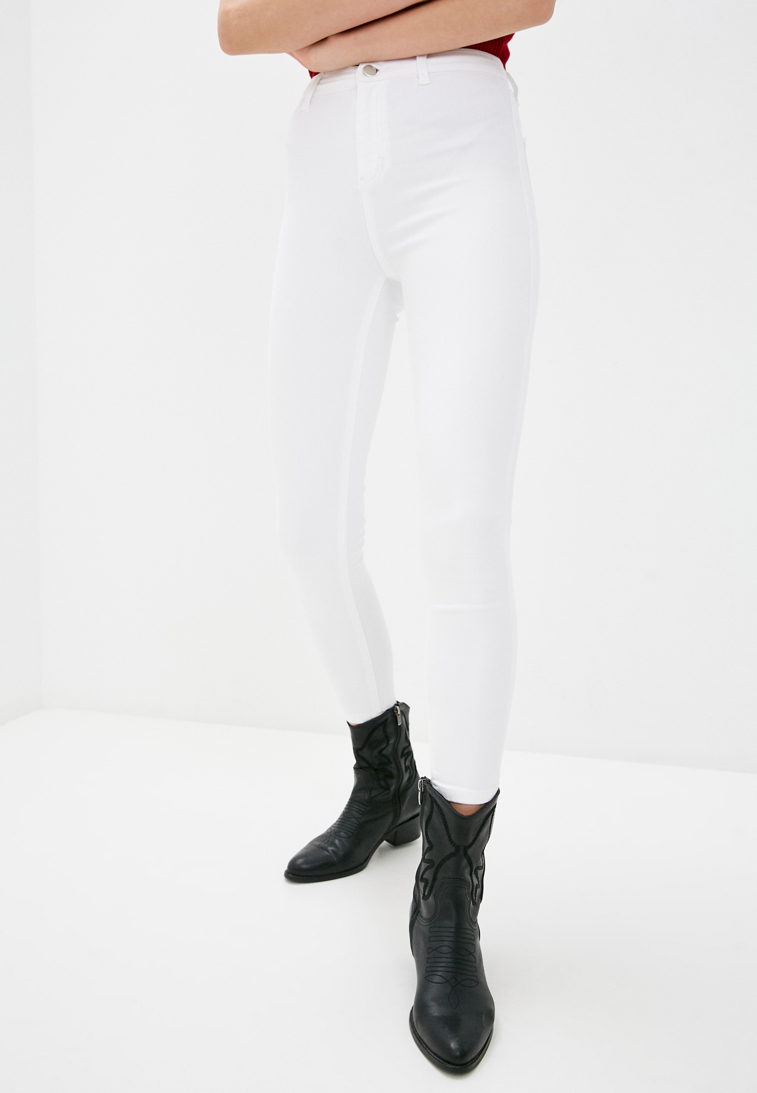 Зауженные джинсы Topshop (Топ Шоп) 02W01UWHT
