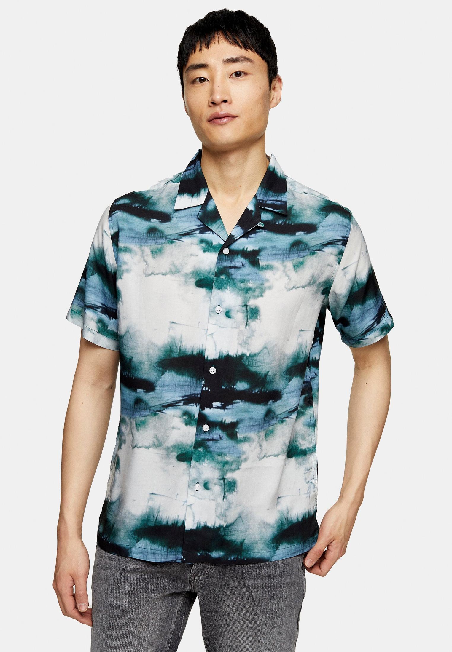 Рубашка с длинным рукавом Topman (Топмэн) 83D12VBLE