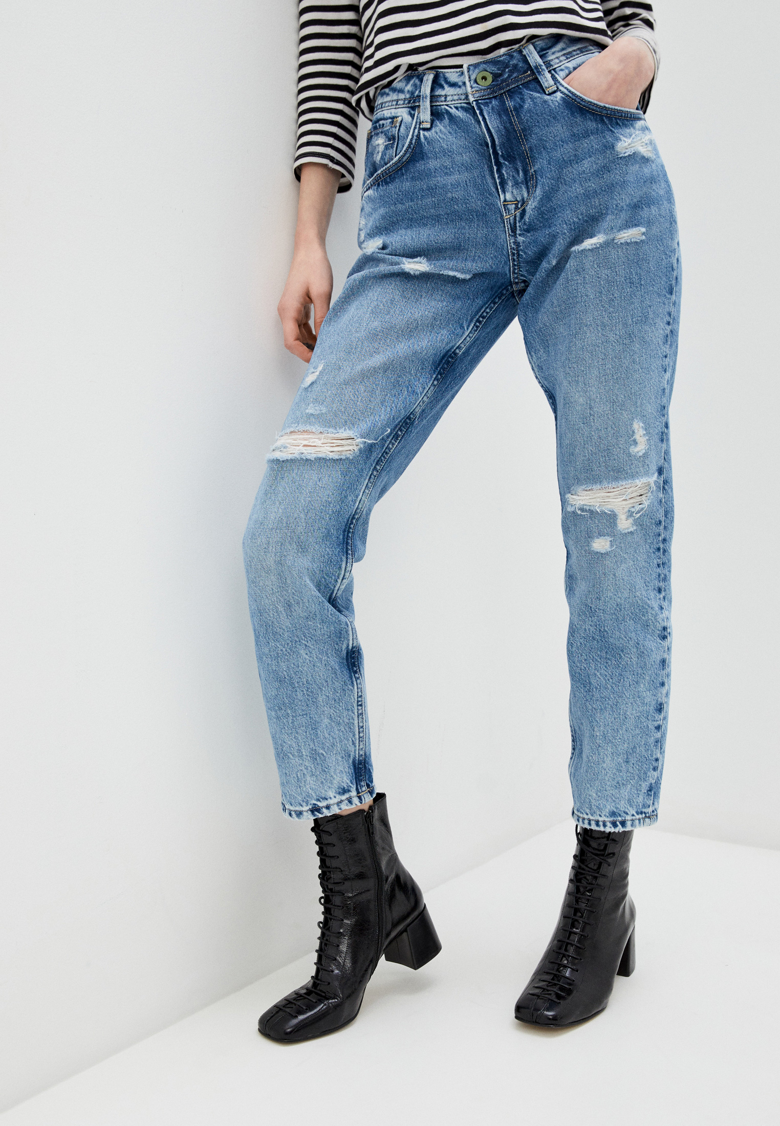 Зауженные джинсы Pepe Jeans (Пепе Джинс) PL201742WQ9
