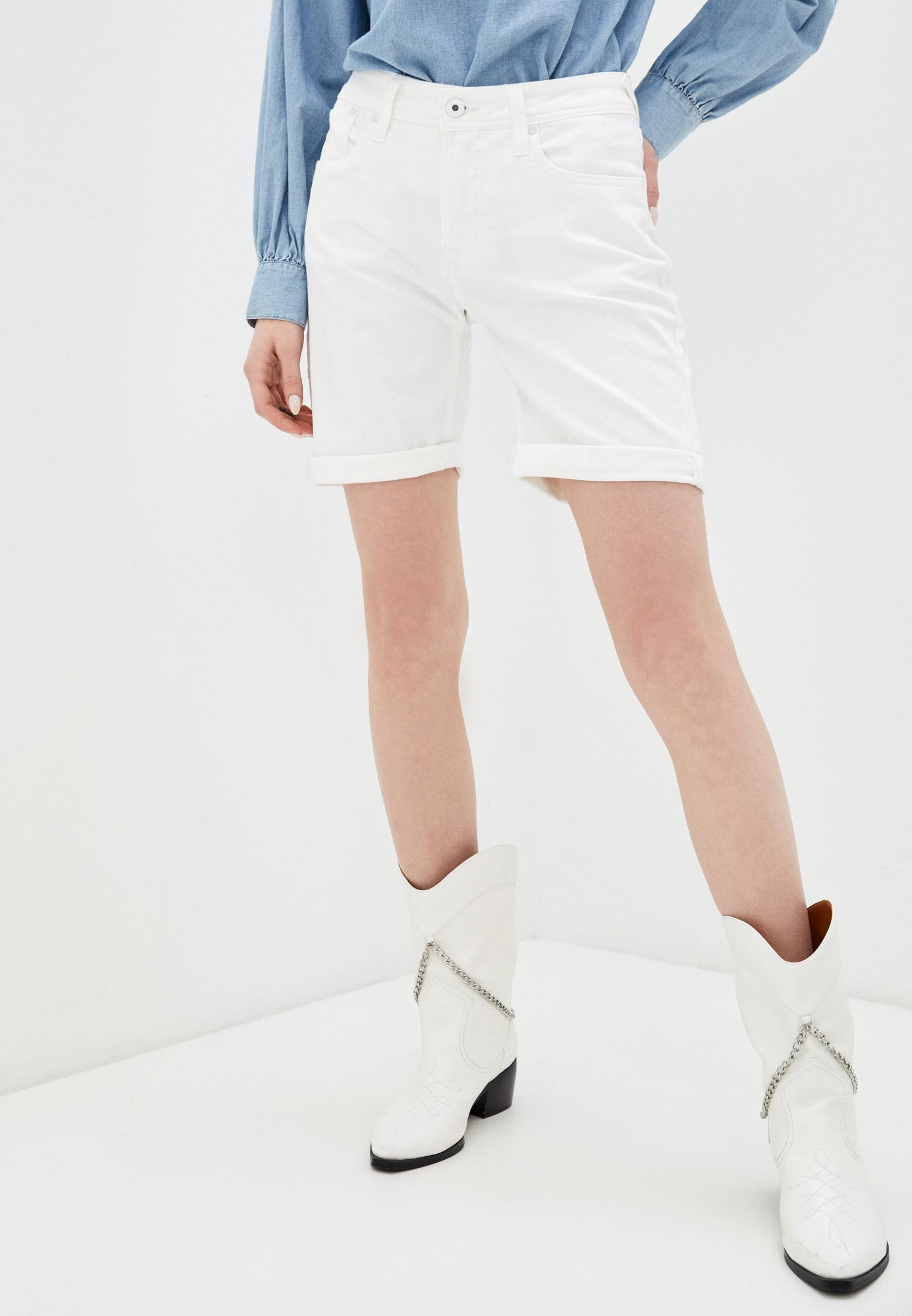 Женские джинсовые шорты Pepe Jeans (Пепе Джинс) Шорты джинсовые Pepe Jeans