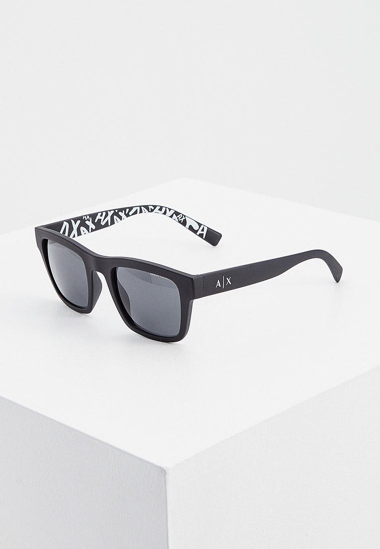 Мужские солнцезащитные очки Armani Exchange 0AX4088S: изображение 7