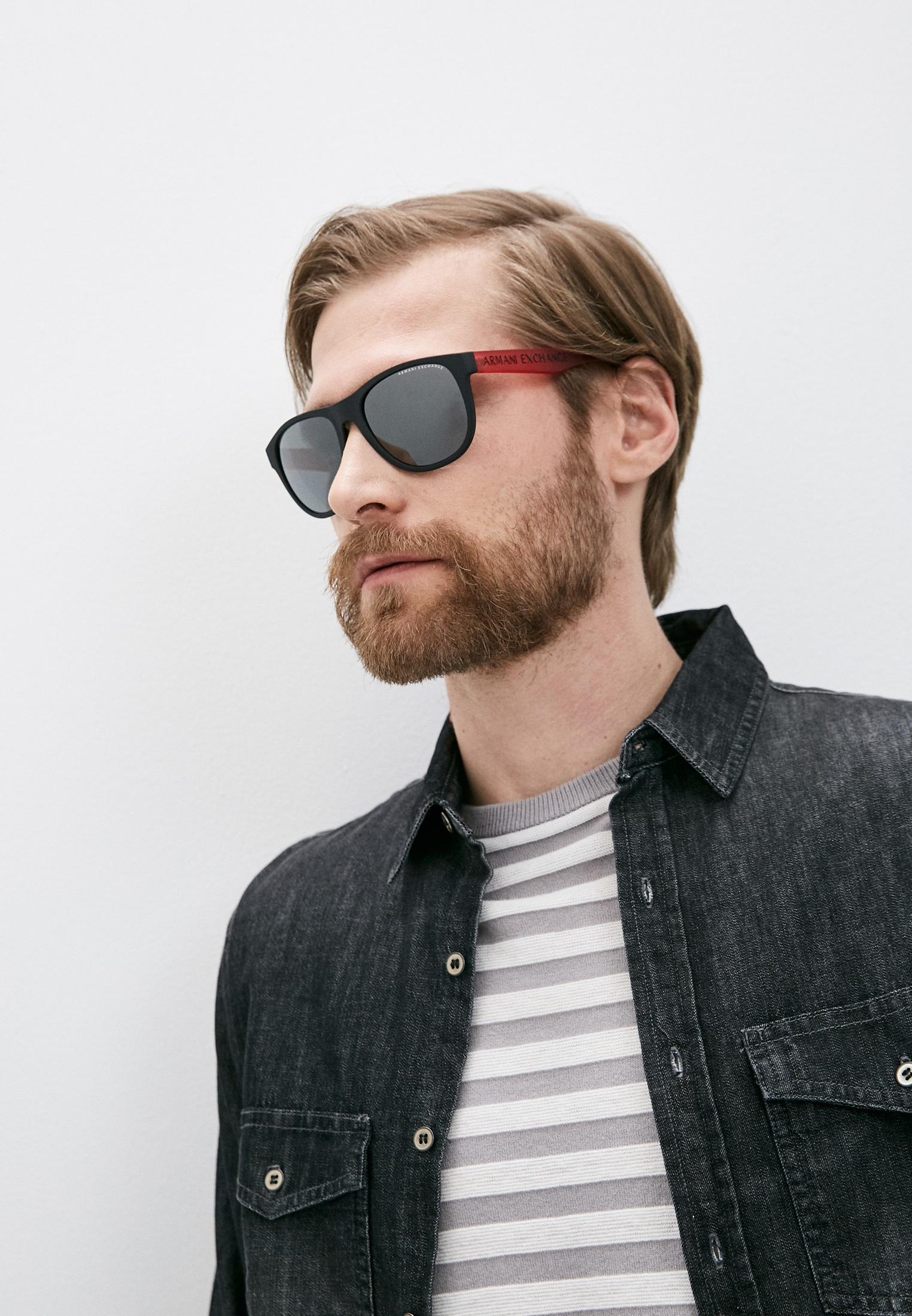 Мужские солнцезащитные очки Armani Exchange 0AX4096S: изображение 12