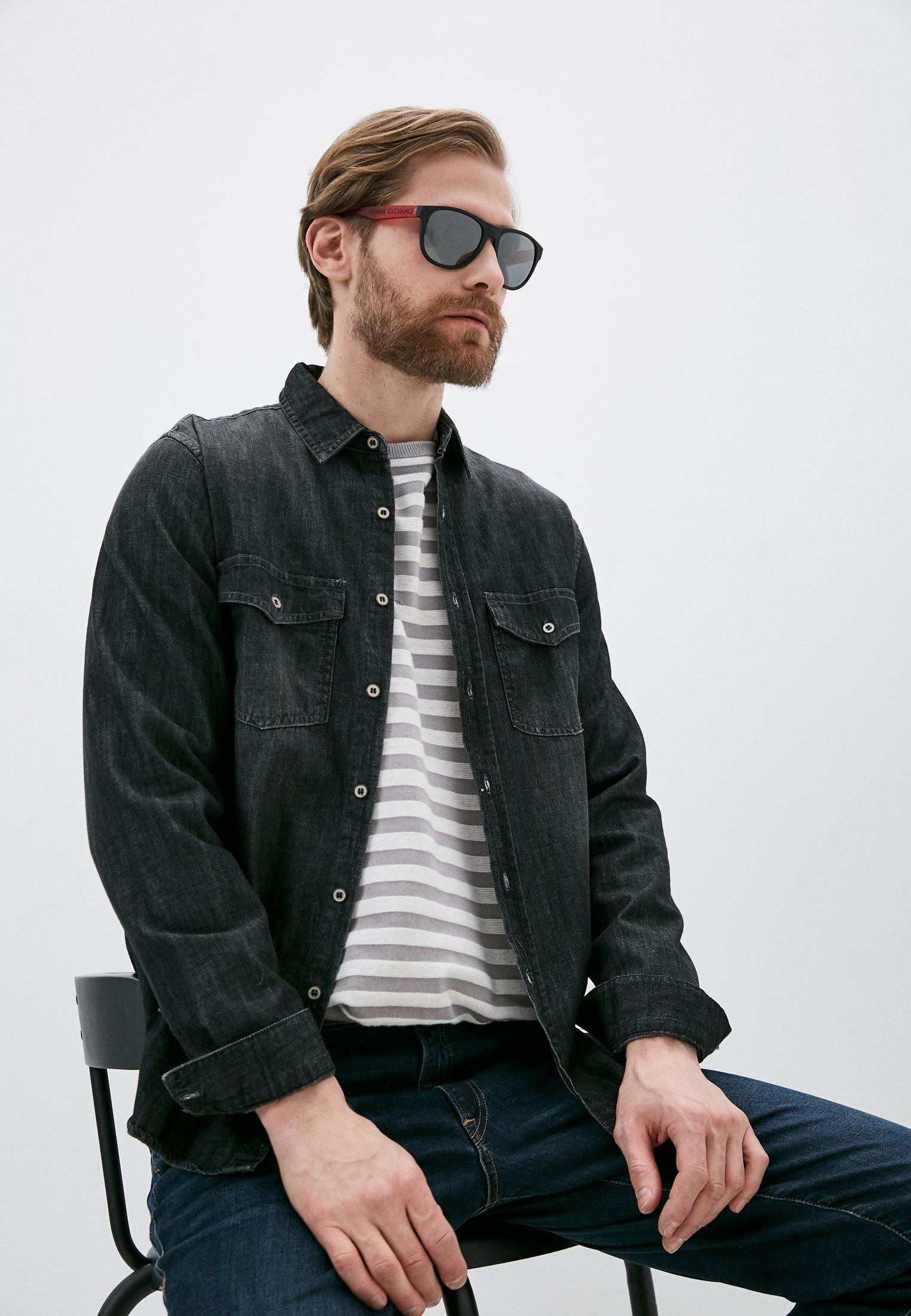 Мужские солнцезащитные очки Armani Exchange 0AX4096S: изображение 13