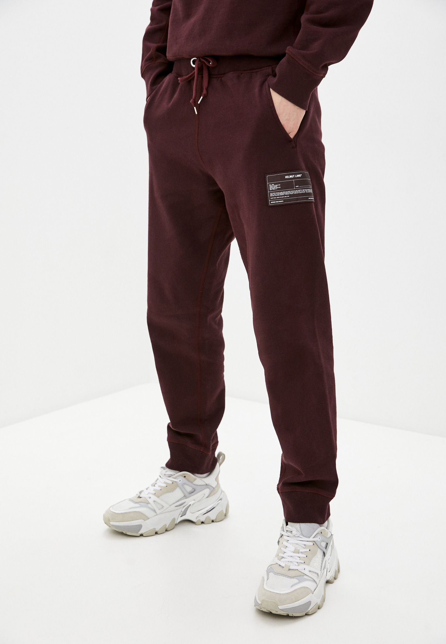Мужские спортивные брюки Helmut Lang (Хельмут Ланг) Брюки спортивные Helmut Lang