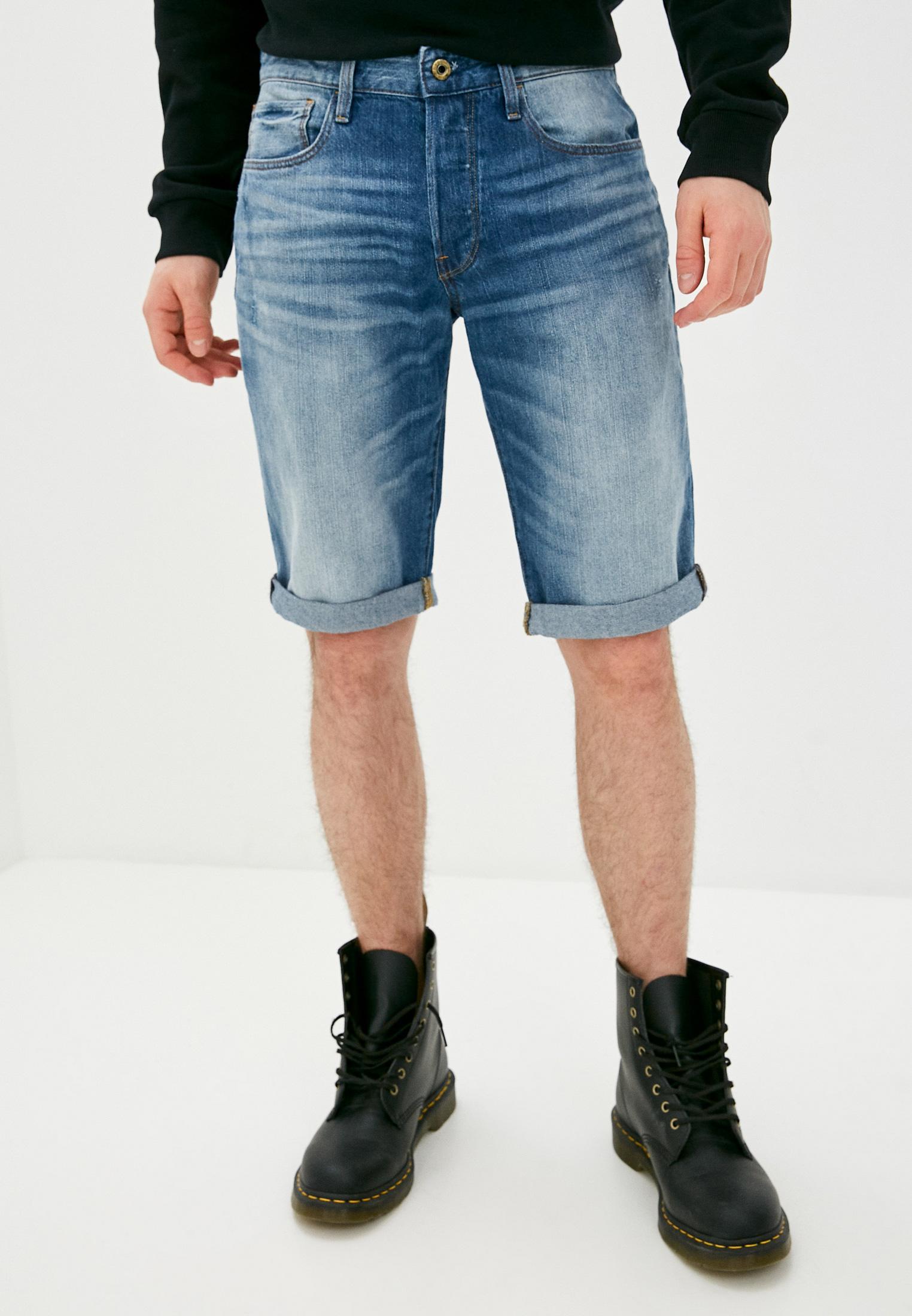Мужские джинсовые шорты G-Star D07432-8973