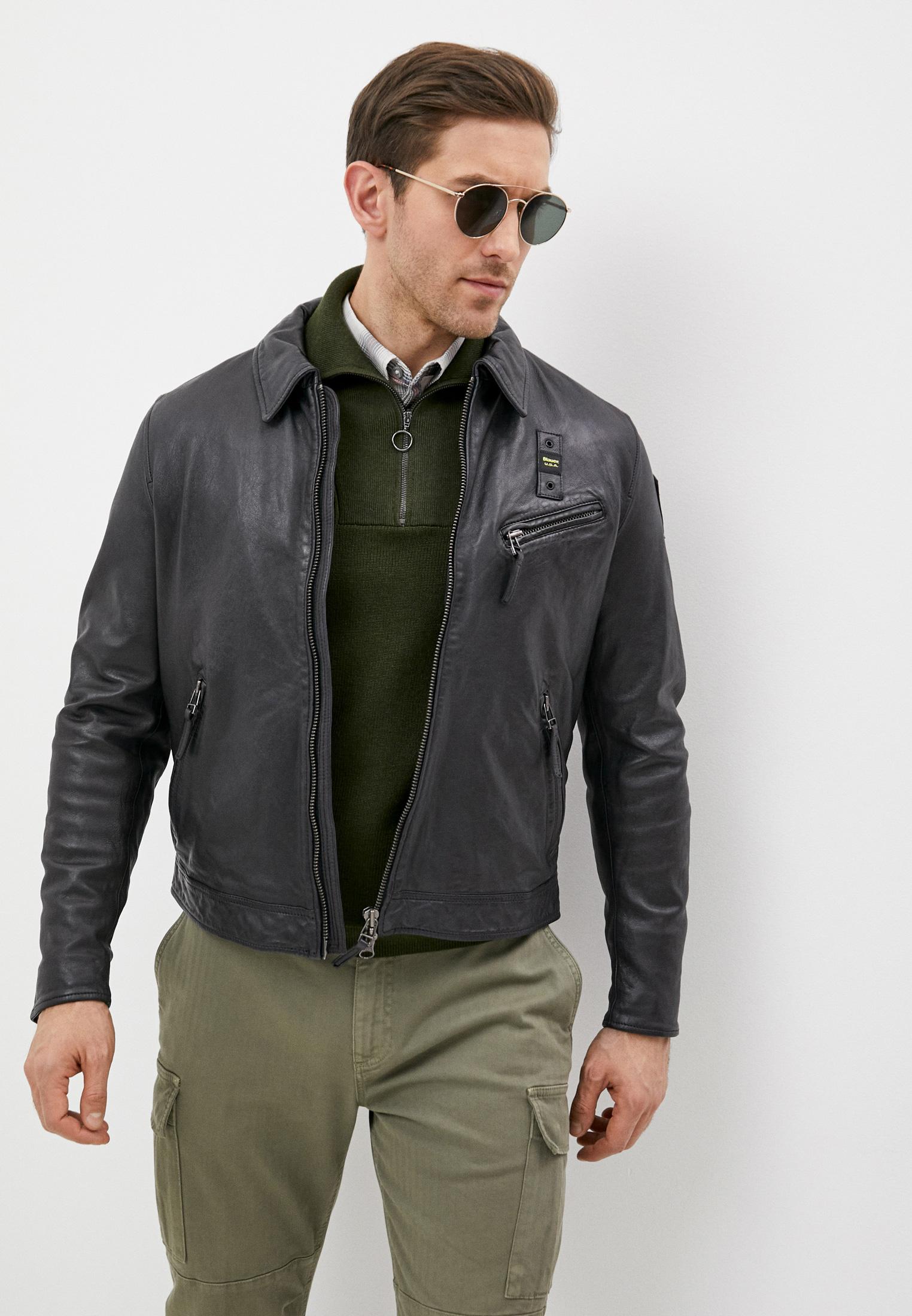 Кожаная куртка Blauer usa 21SBLUL02277