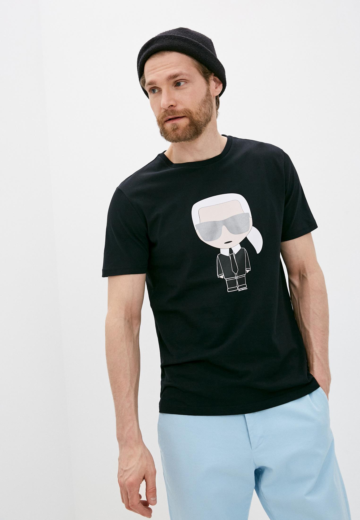 Мужская футболка Karl Lagerfeld (Карл Лагерфельд) 755061 511251