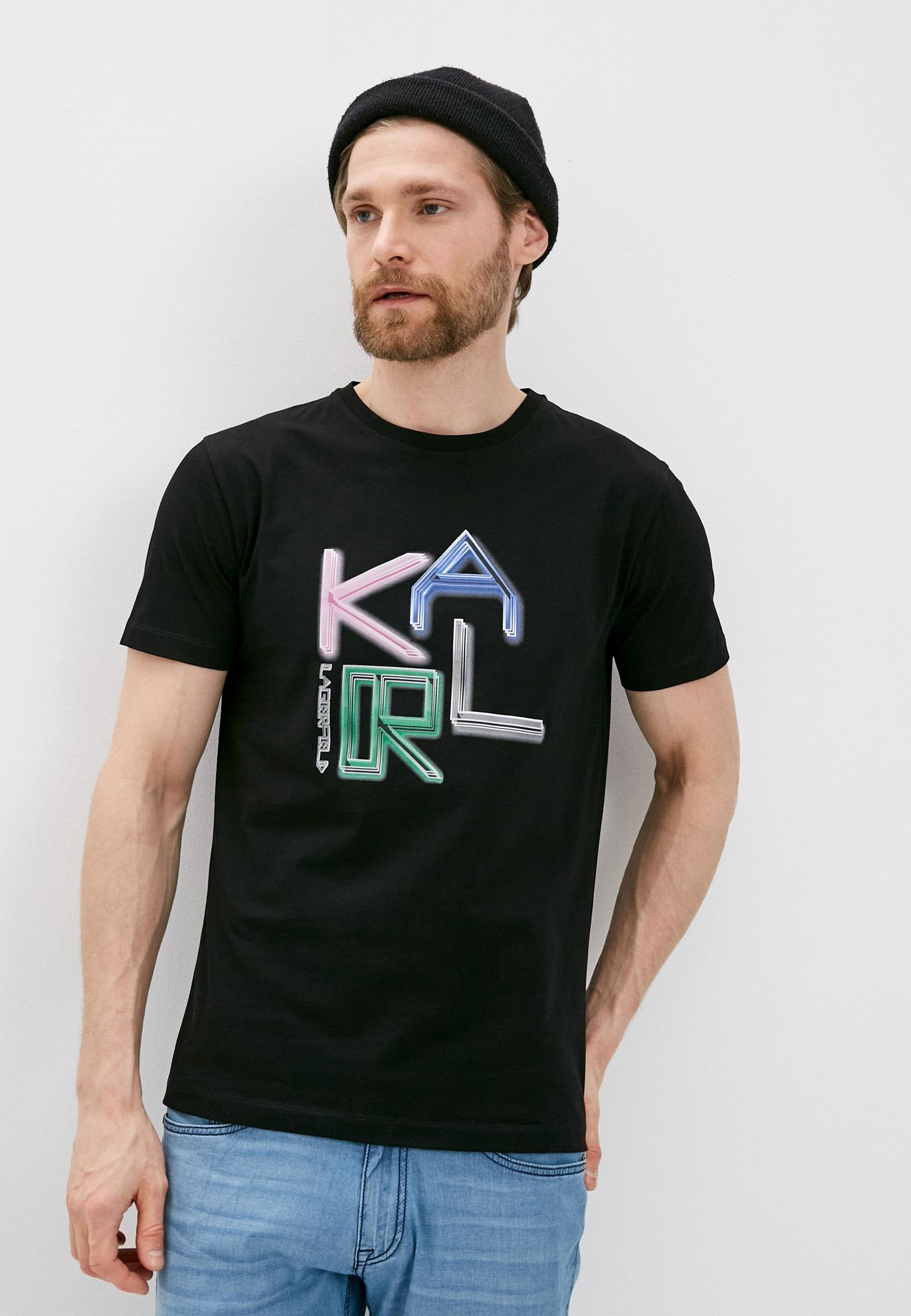 Мужская футболка Karl Lagerfeld (Карл Лагерфельд) 755063 511240