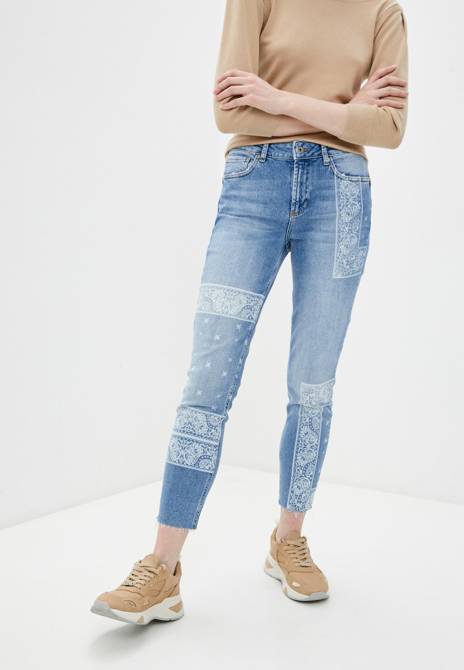 Зауженные джинсы Liu Jo (Лиу Джо) UA1034 D4588: изображение 1