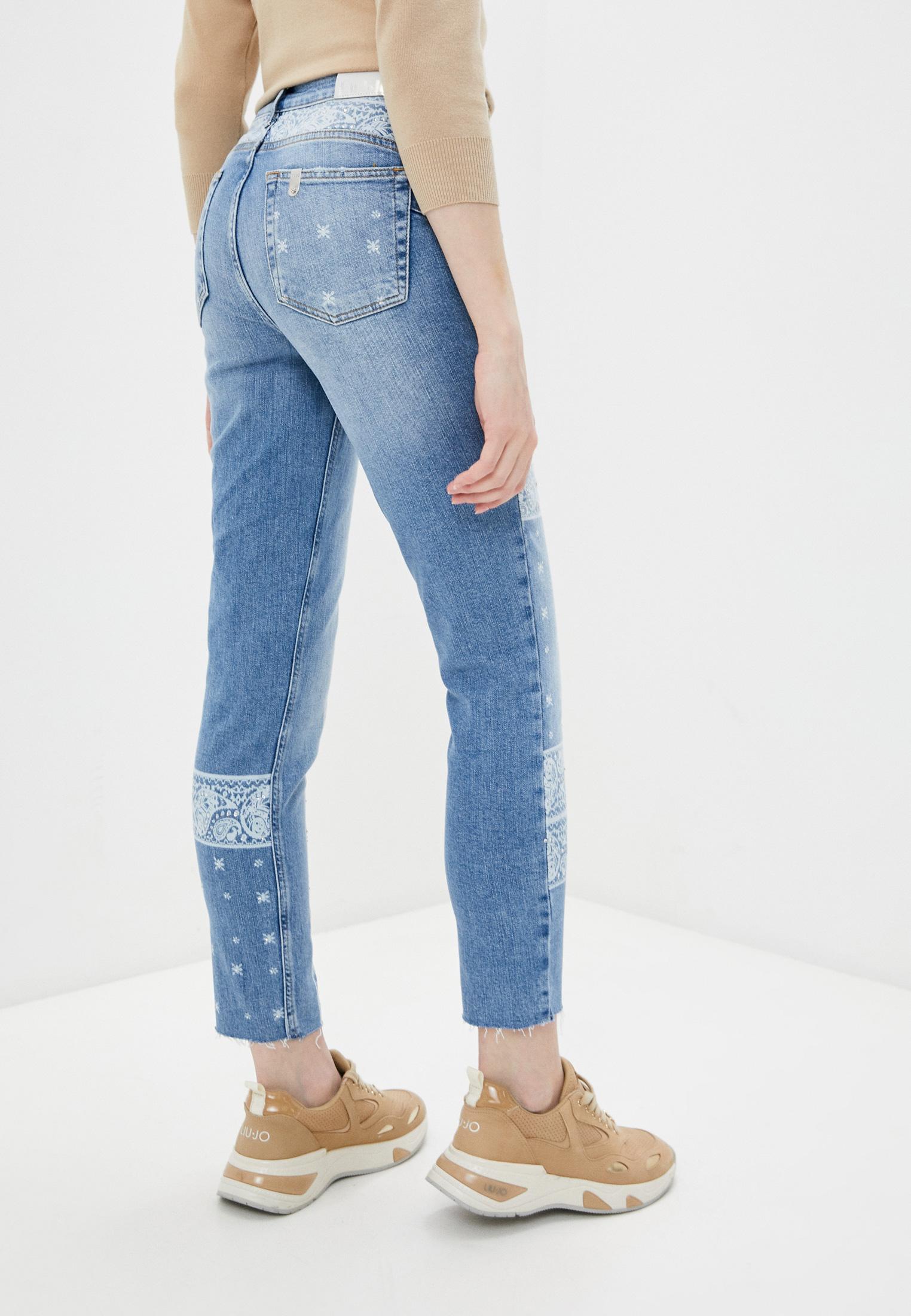 Зауженные джинсы Liu Jo (Лиу Джо) UA1034 D4588: изображение 4