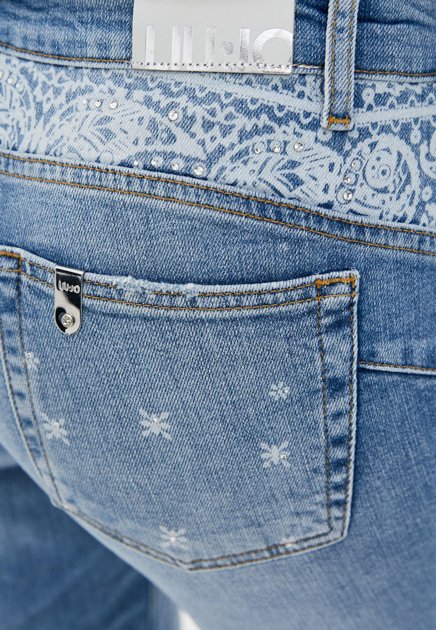 Зауженные джинсы Liu Jo (Лиу Джо) UA1034 D4588: изображение 5