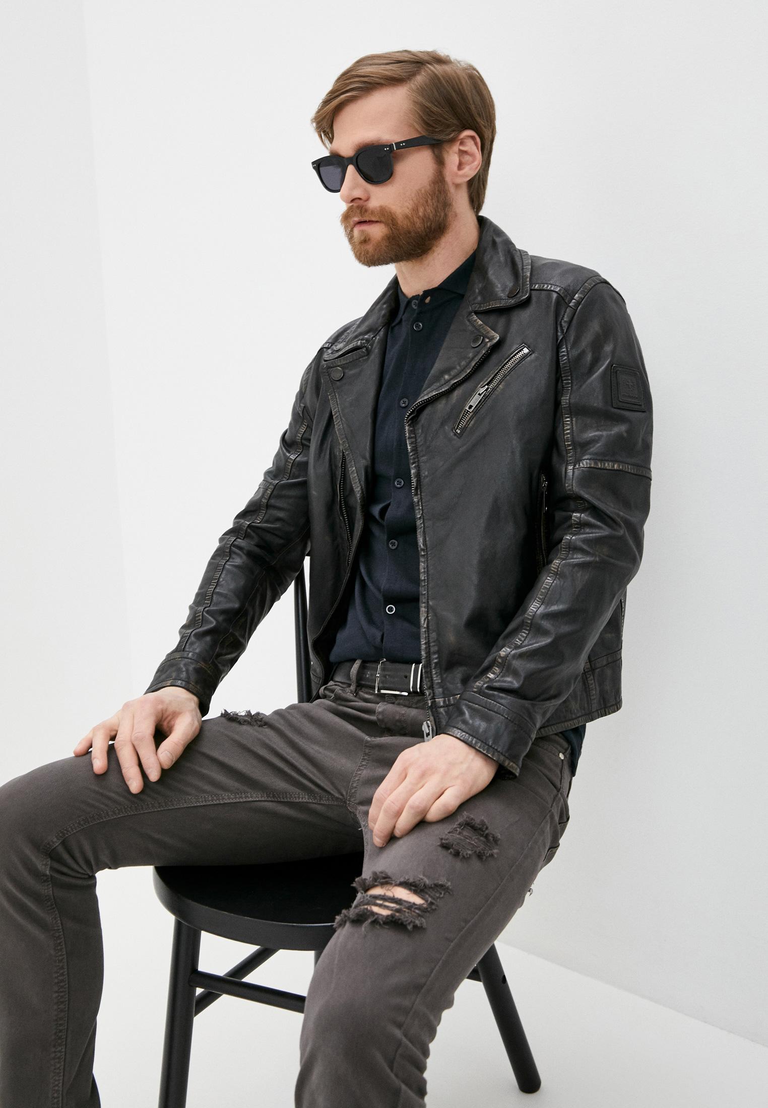 Кожаная куртка Strellson 110006170