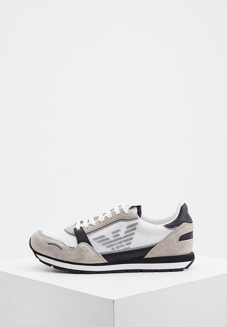 Мужские кроссовки Emporio Armani (Эмпорио Армани) X4X537XM678