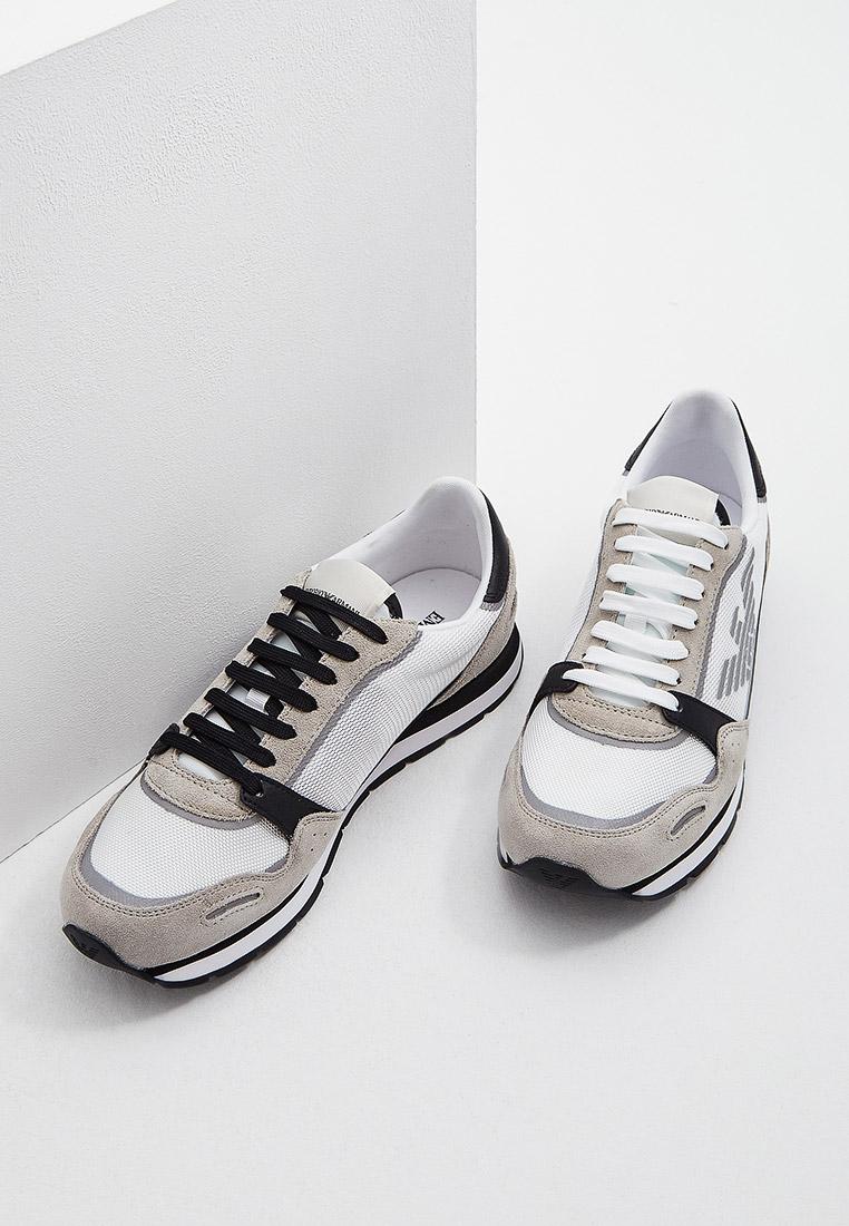 Мужские кроссовки Emporio Armani (Эмпорио Армани) X4X537XM678: изображение 4
