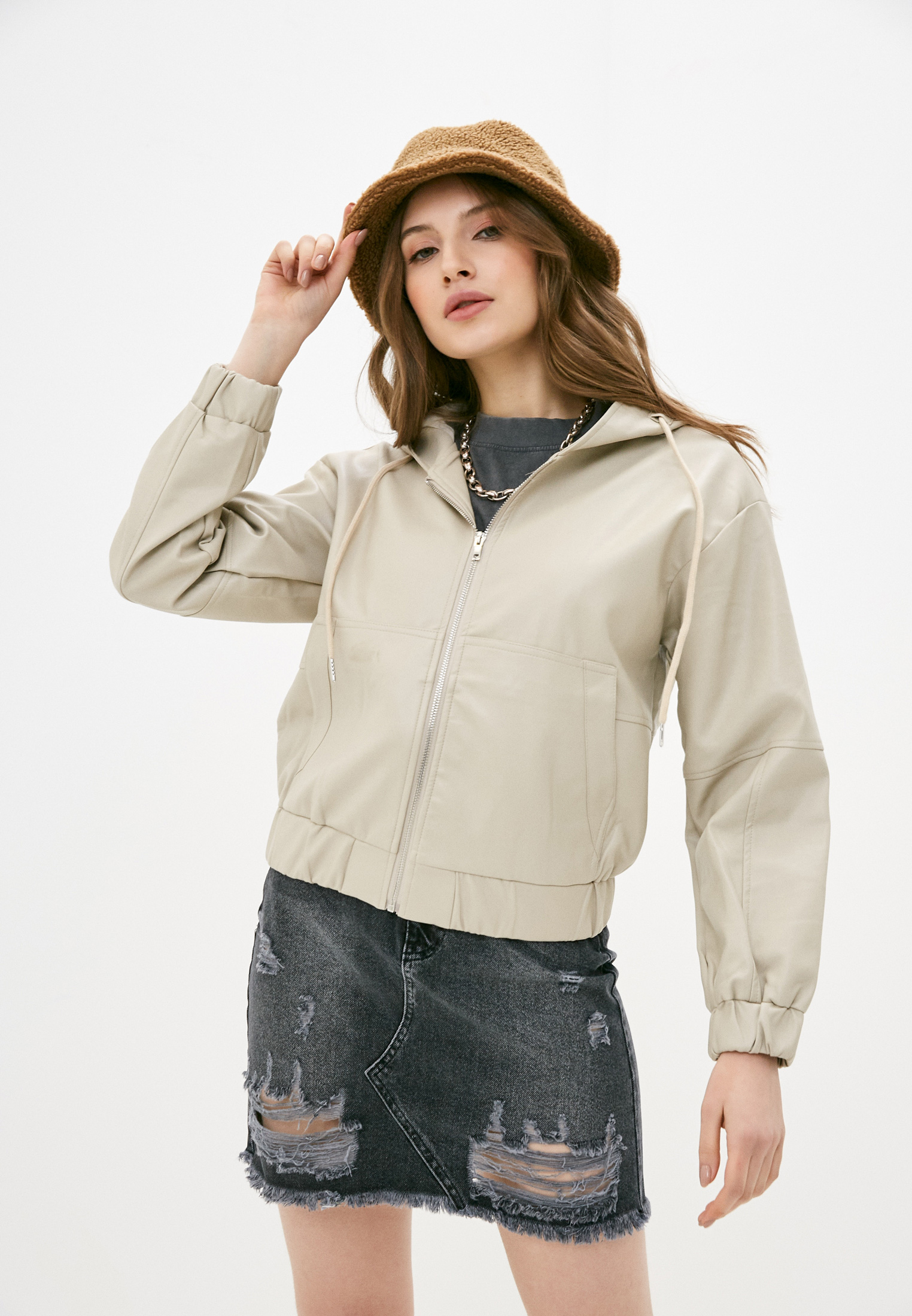 Кожаная куртка Fadas 8192