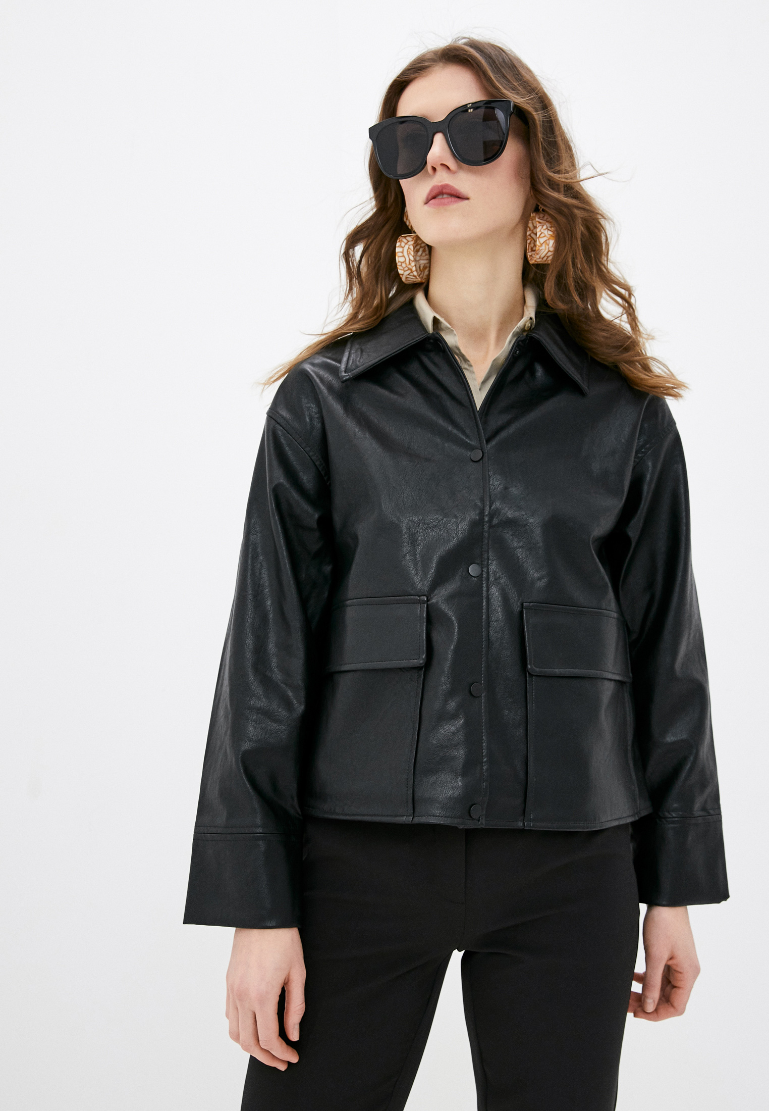 Кожаная куртка Ichi (Ичи) 20113845