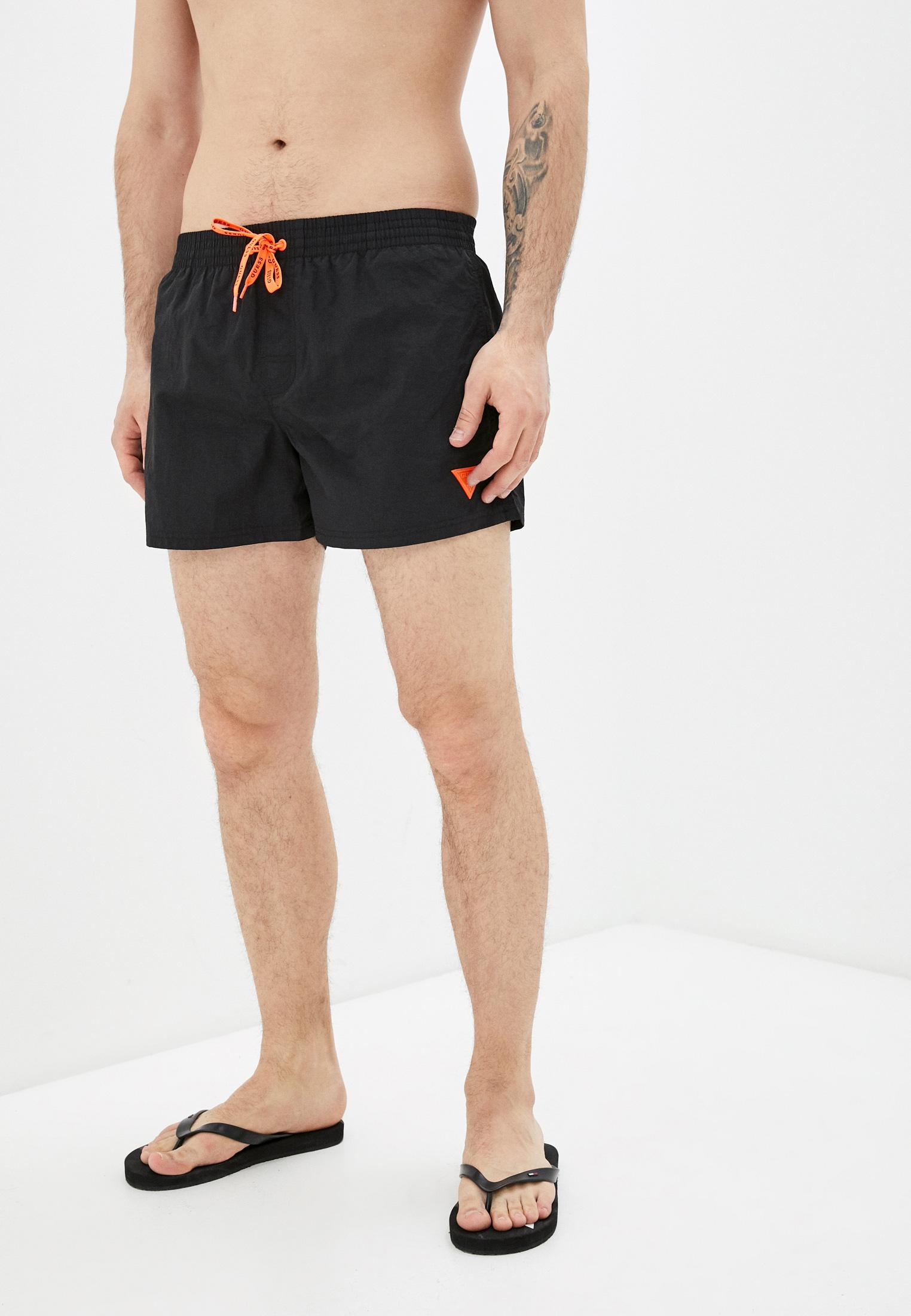 Мужские шорты для плавания Guess (Гесс) F02T00 TEL27: изображение 4
