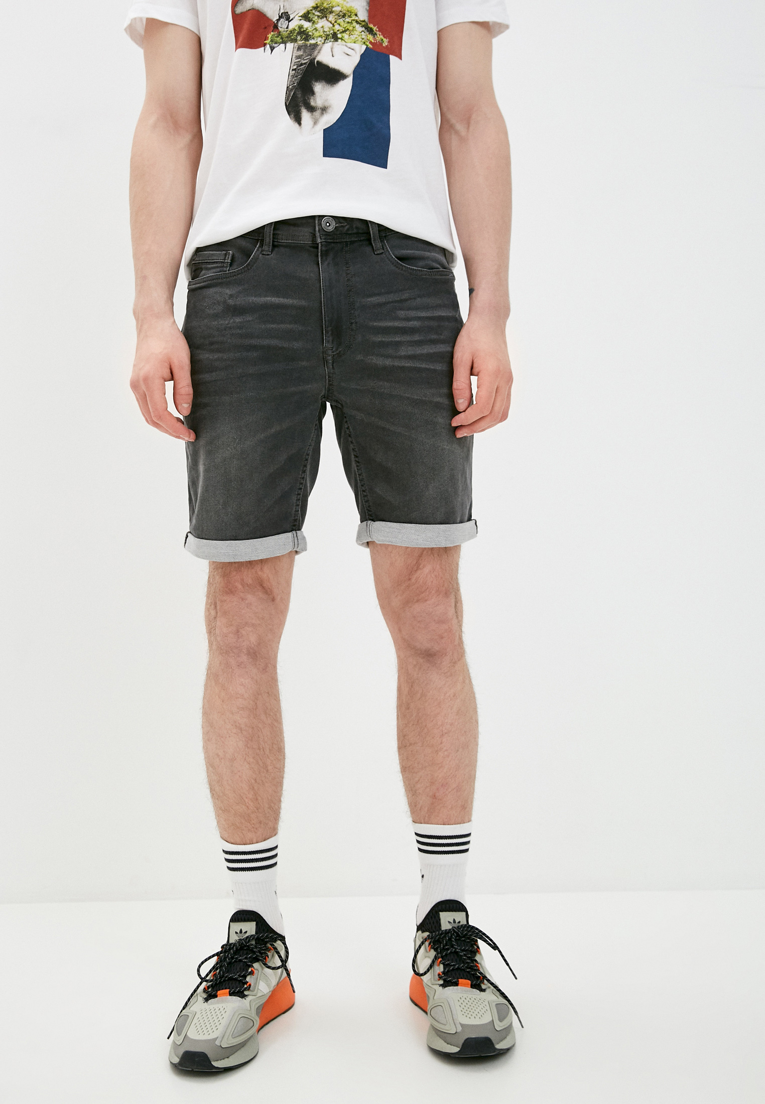 Мужские джинсовые шорты Blend (Бленд) 20711773: изображение 1