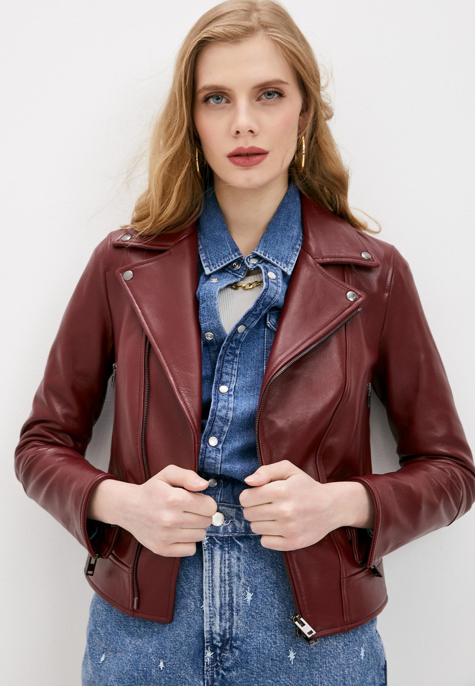 Кожаная куртка Blouson lanza