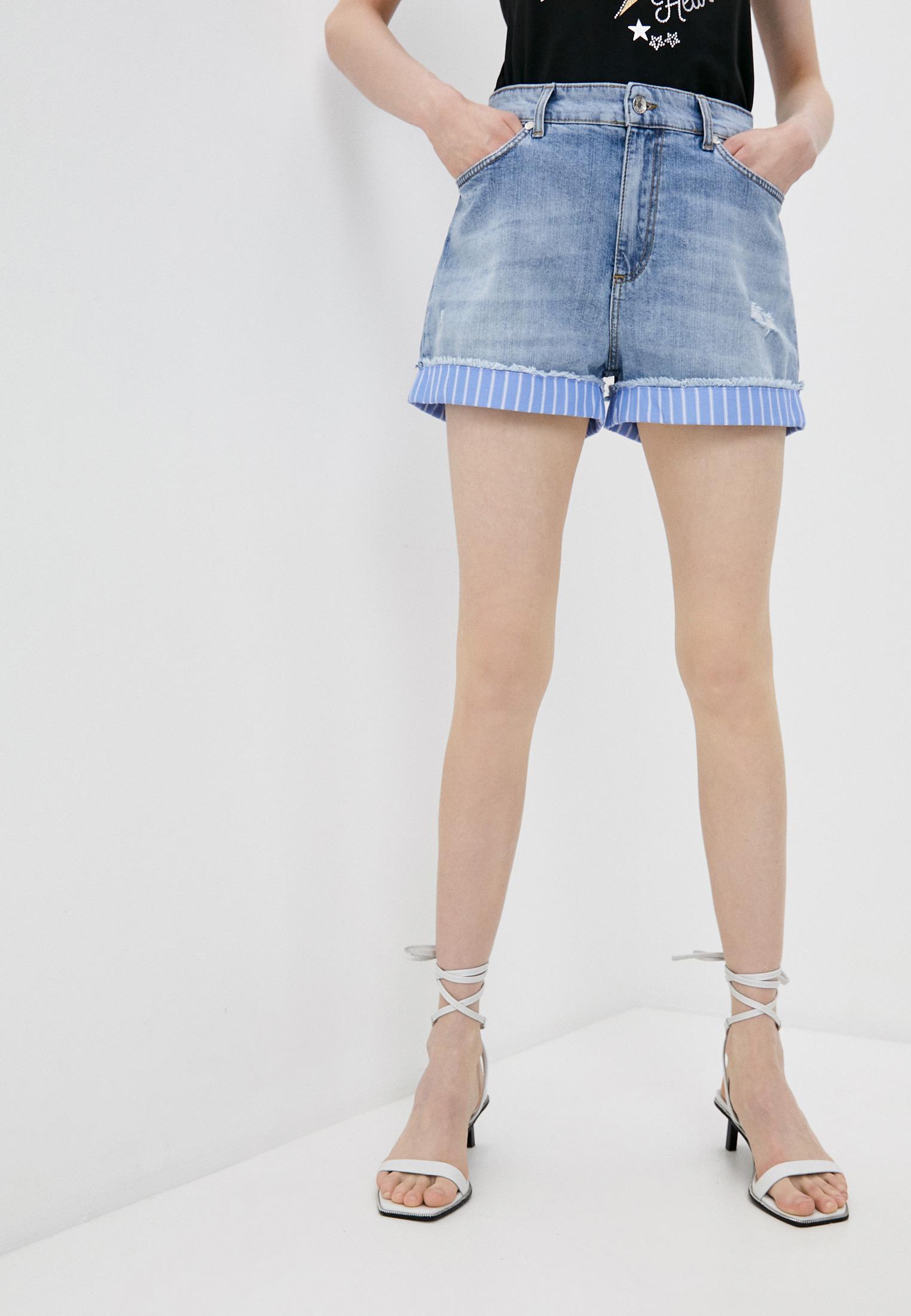 Женские джинсовые шорты Liu Jo (Лиу Джо) UA1172 D3105