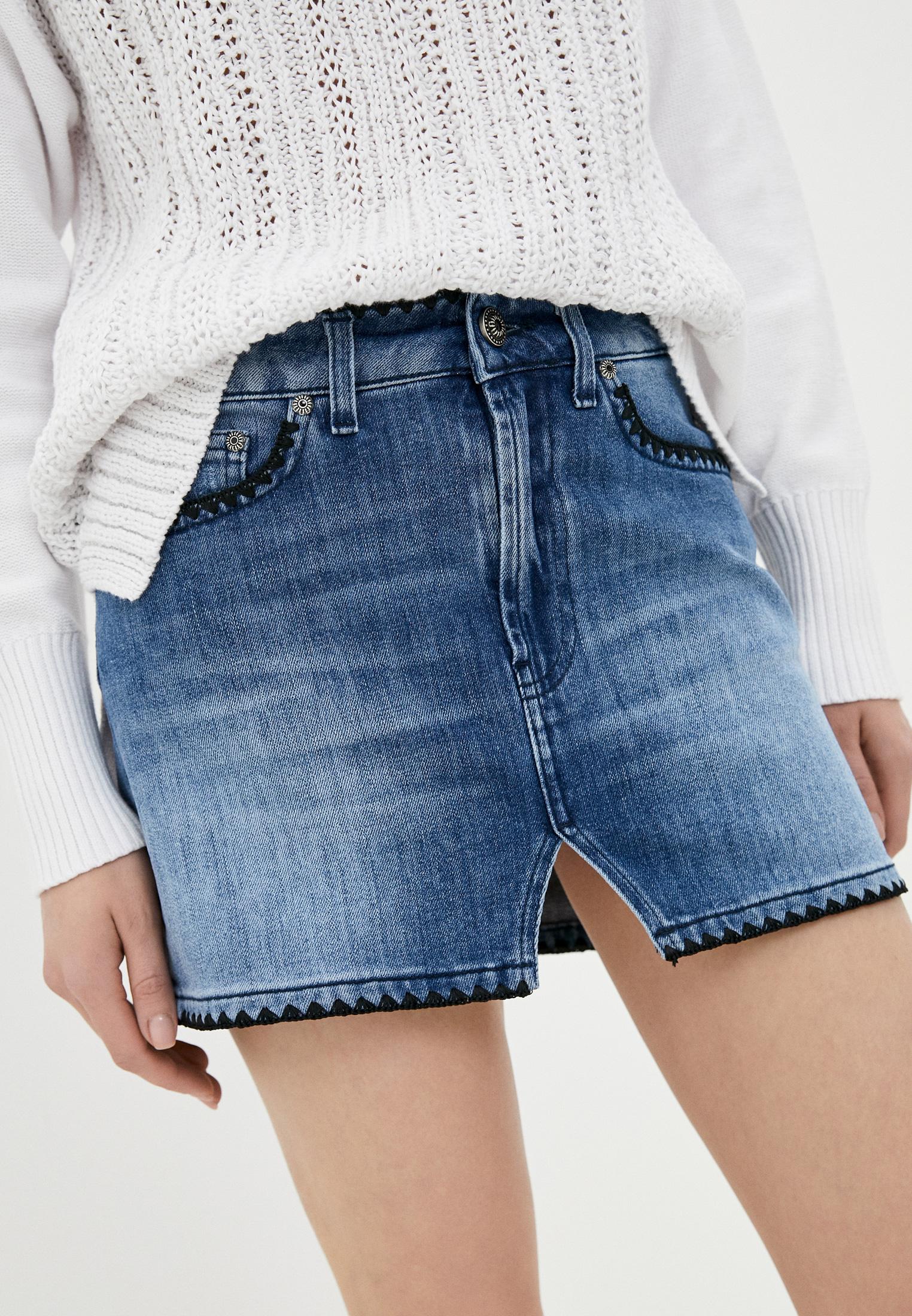 Джинсовая юбка DonDup Юбка джинсовая Dondup
