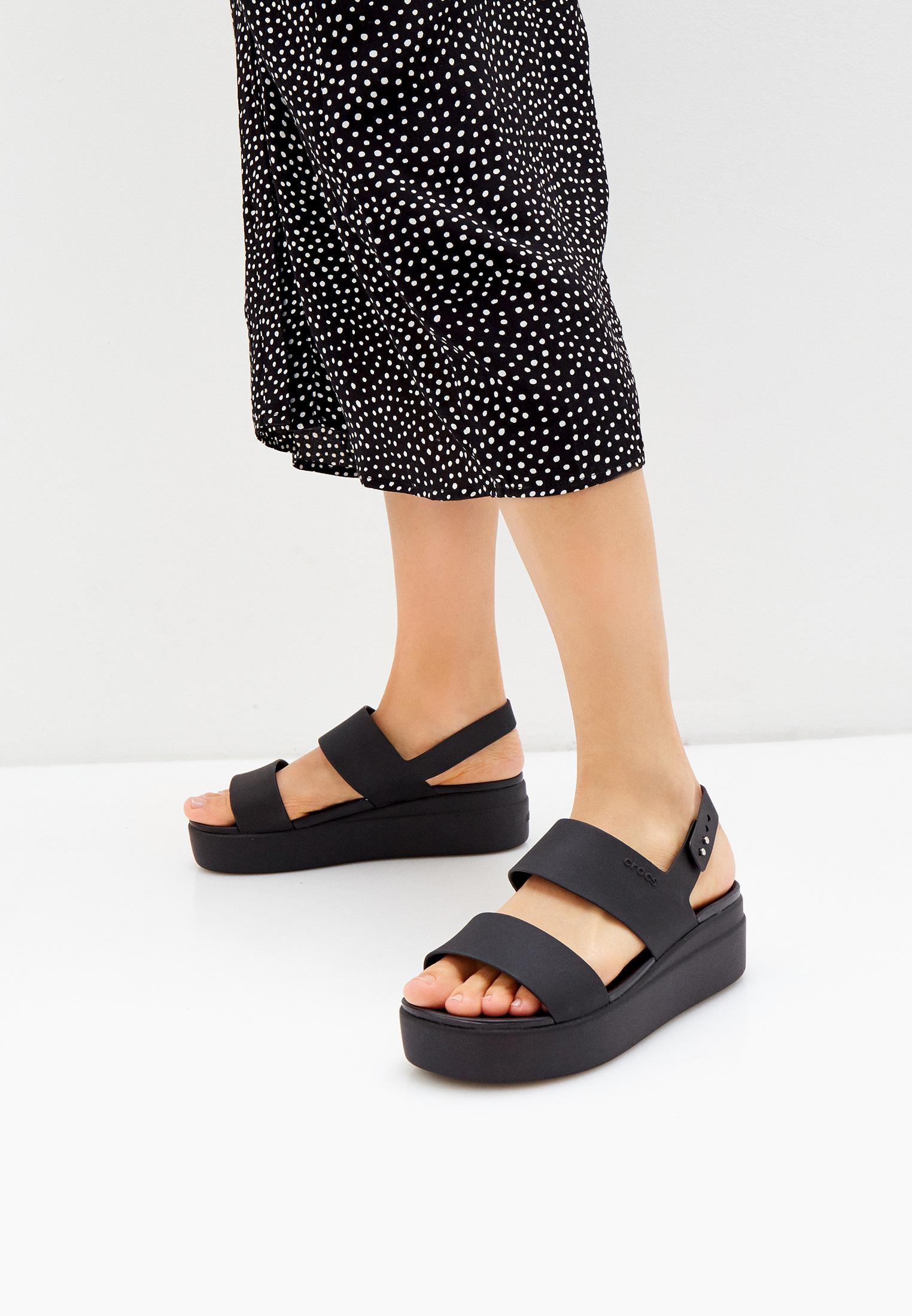 Женские босоножки Crocs (Крокс) 206453: изображение 6