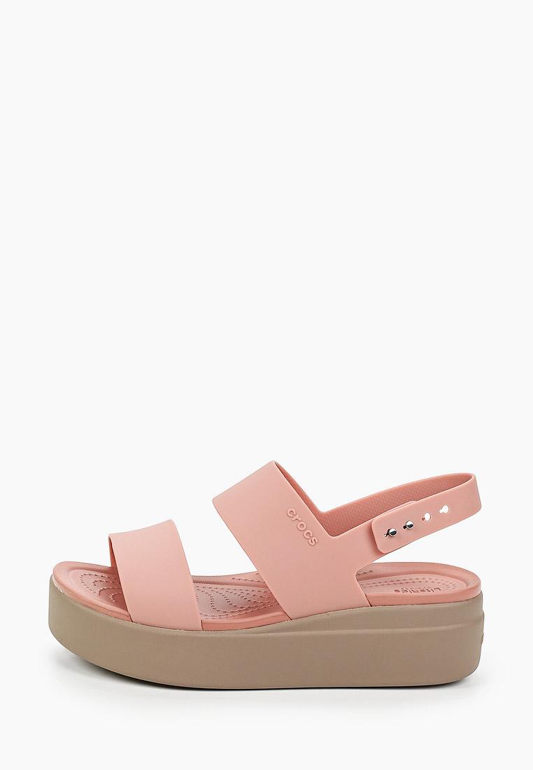 Женская резиновая обувь Crocs (Крокс) Сандалии Crocs