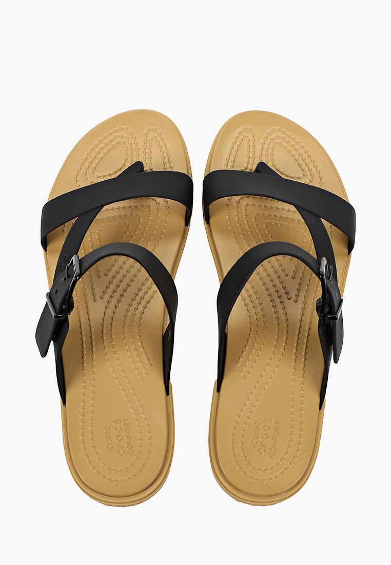Женские сланцы Crocs (Крокс) 206108: изображение 4