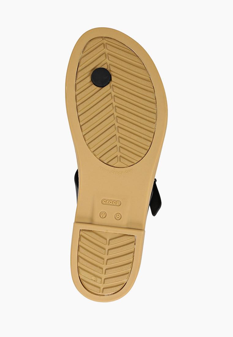 Женские сланцы Crocs (Крокс) 206108: изображение 5