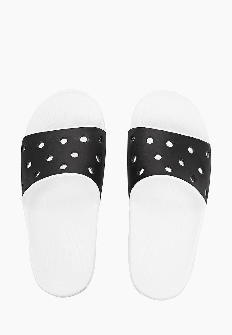 Женские сланцы Crocs (Крокс) 206882: изображение 4