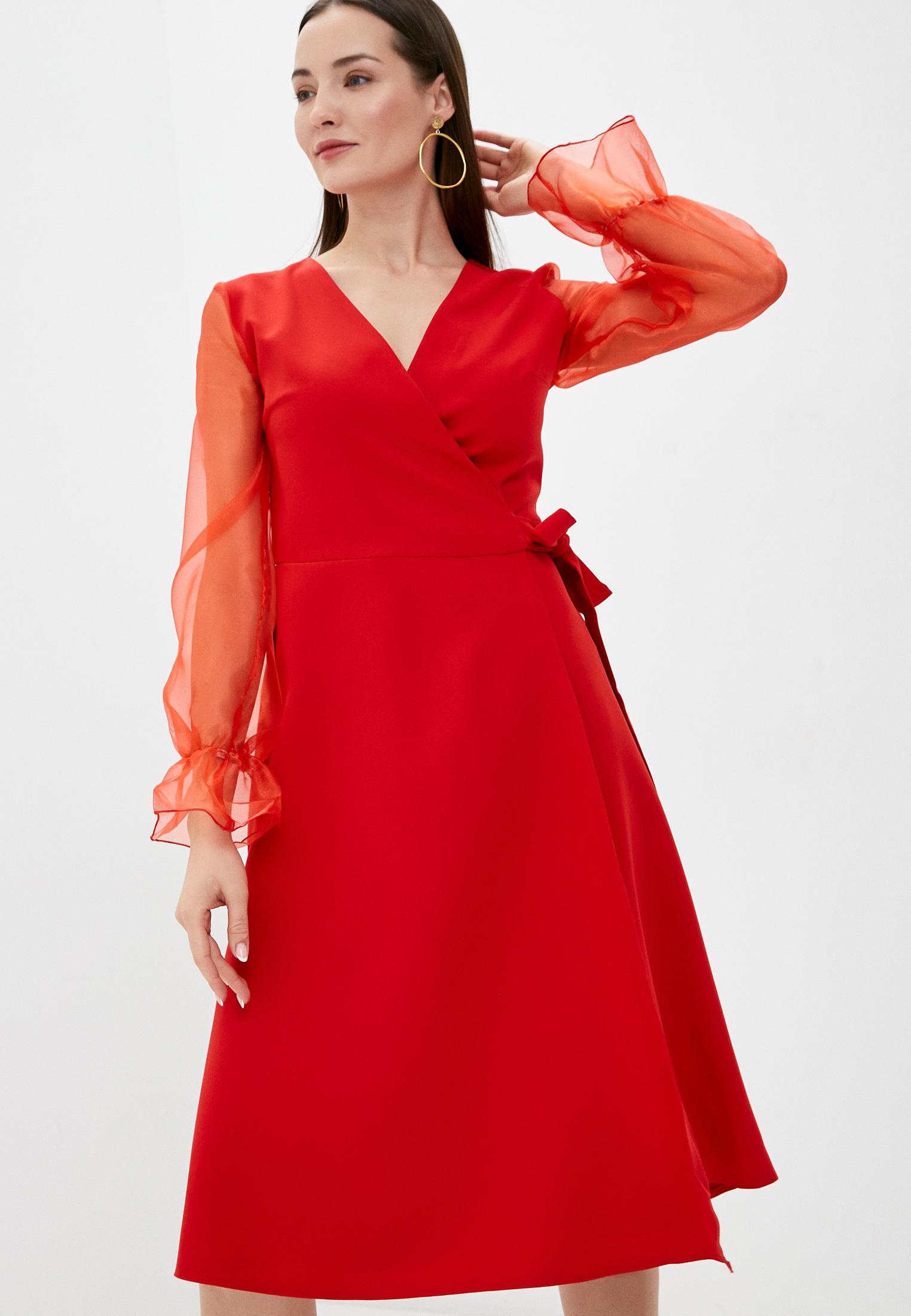 Вечернее / коктейльное платье Pink Orange PO21-1305-4