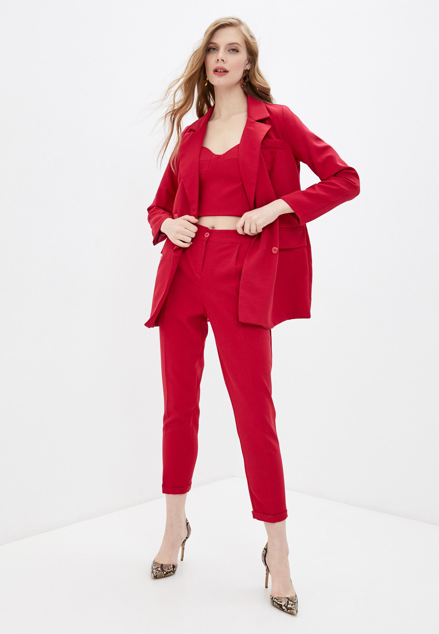 Костюм с брюками Pink Orange PO21-1372-3
